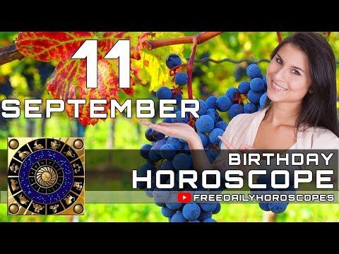 September 11 - Birthday Horoscope Personality - YouTube
