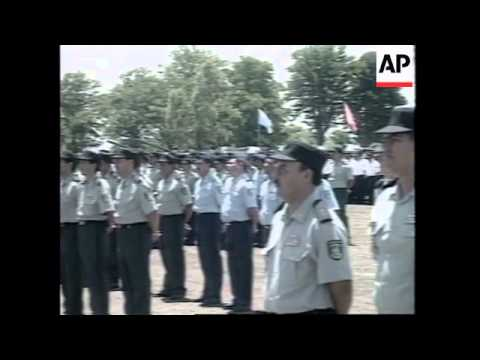 NICARAGUA: MANAGUA: ARMED FORCES DAY PARADE