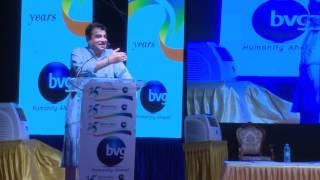Hon. Nitin Gadkari speaking at BVG 25th Anniversary on 22nd May, 2017