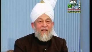 Arabic Darsul Quran 12th February 1995 - Surah Aale Imraan verse 184 - Islam Ahmadiyya