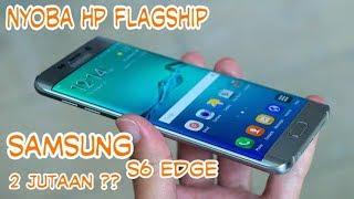 UNBOXING + REVIEW Samsung Galaxy S6 edge 2 JUTAAN??? Docomo FULL set