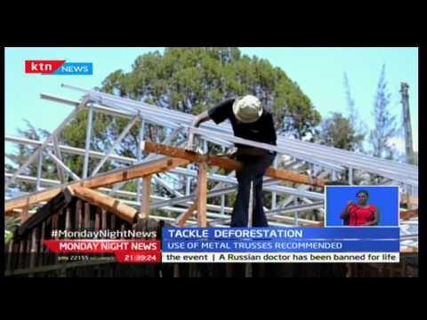 Mabati rolling mills have a way of combating deforestation by introducing steel roofing technology