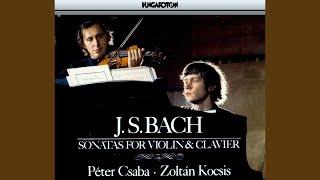 Sonata No. 3 in E major BWV 1016: I. Adagio