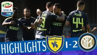 Chievo - Inter 1-2 - Highlights - Giornata 34 - Serie A TIM 2017/18