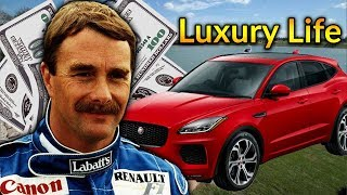 Nigel Mansell Luxury Lifestyle | Bio, Family, Net worth, Earning, House, Cars