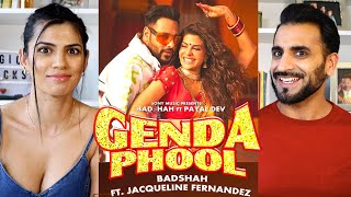 GENDA PHOOL REACTION! | Badshah | Jacqueline Fernandez | Payal Dev | Official Music Video 2020