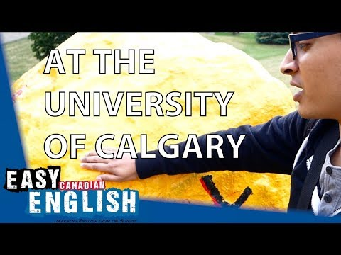 At the University of Calgary | Super Easy English 1