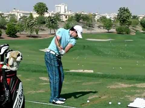 Rory McIlroy Slow Motion Golf Swing (Iron) TL 2011 ...