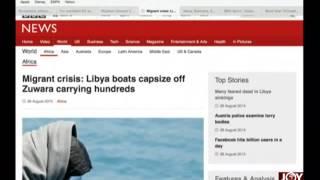 Newspaper Headlines - AM Show on Joy News (28-8-15)