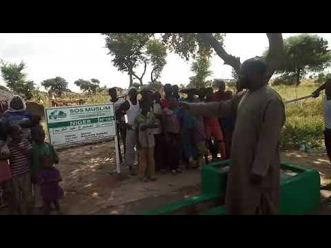 Inauguration du Puits H13 Niger n° 52 (Puits à 790€)