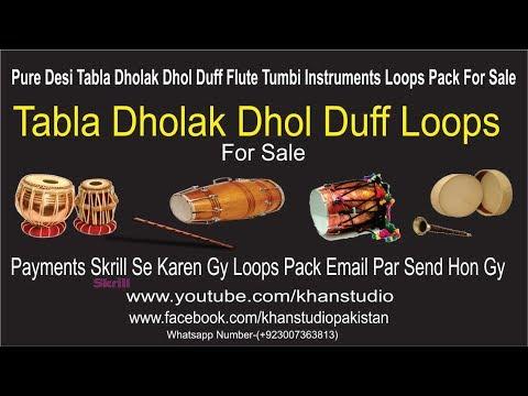 Pure Desi Tabla Dholak Dhol Flute Tumbi Instruments Loops Pack For Sale