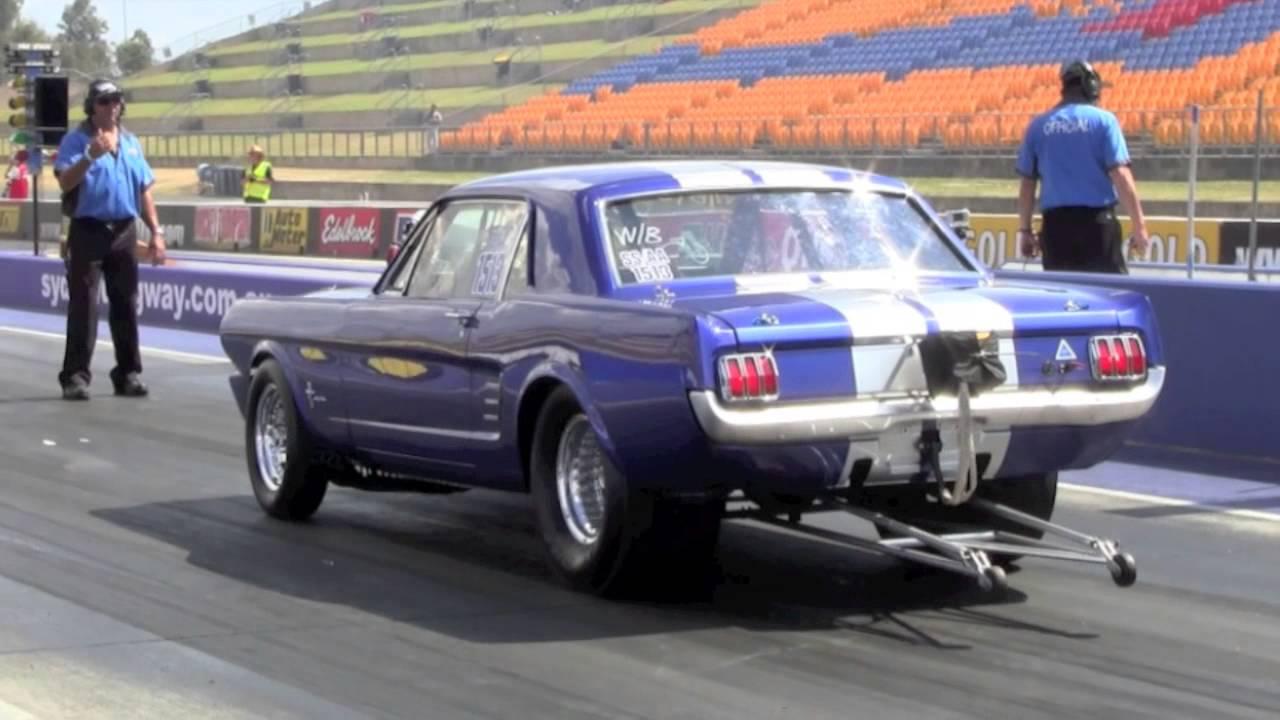 & 1966 blown ford mustang drag car 11/2012 - YouTube markmcfarlin.com