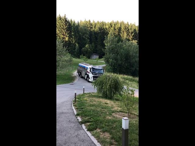Milchtankwagen
