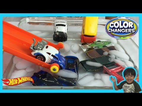 10+ COLOR CHANGERS CARS Hot Wheels Color Shifters Toys Ryan ToysReview