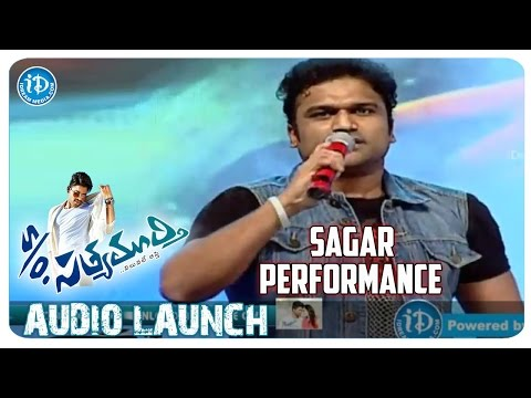 DSP Brother Sagar Performance | S/o Satyamurthy Audio Launch | Allu Arjun | Samantha