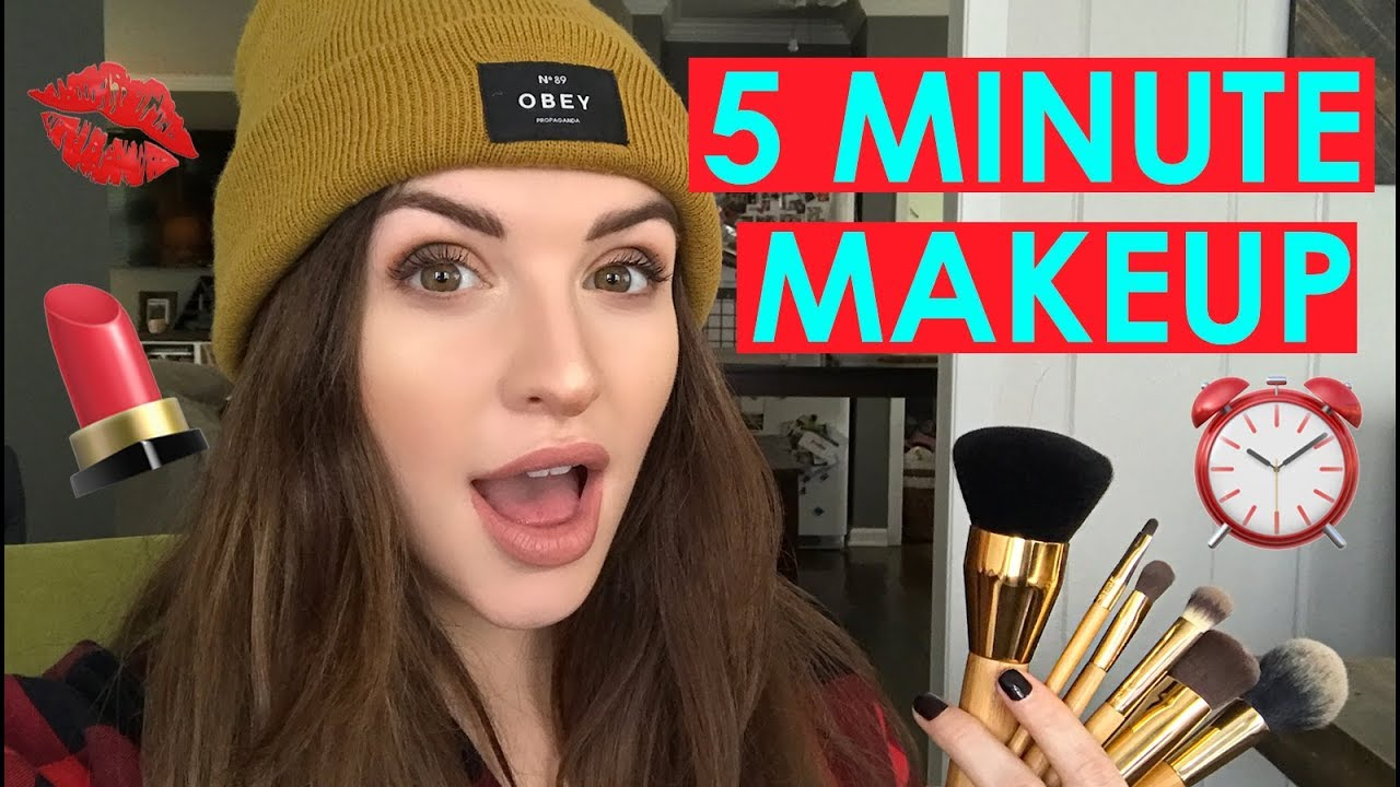 5 Minute Back To School Makeup With Jen Tarte Talk Youtube