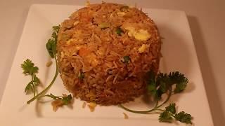 Vegetable egg fry rice