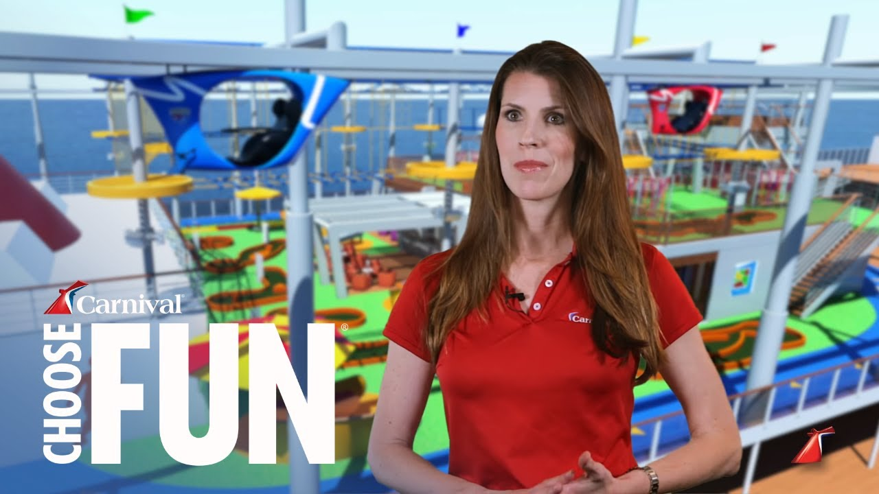 SkyRide on Carnival Vista - YouTube