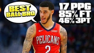 LONZO BALL PLAYED THE BEST BASKETBALL OF HIS CAREER IN FEBRUARY! | SHOOTING 40% FROM 3PT THIS SEASON