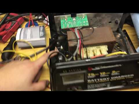 [DIAGRAM_38IS]  Symptoms of Bad Circuit Breaker Schumacher Battery Charger (Anti-Throw Away  Society) - YouTube | Se 1052 Battery Charger Wiring Diagram |  | YouTube
