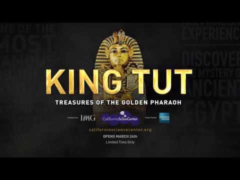 King Tut: Treasures of the Golden Pharaoh   California Science Center   School Groups