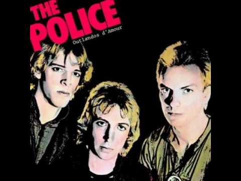 The Police- So Lonely (Studio Version W/Lyrics)