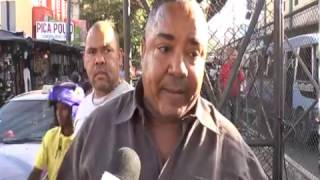 LIO ENTRE CHOFER ARMADO CON CUCHILLO Y AGENTES DE AMET