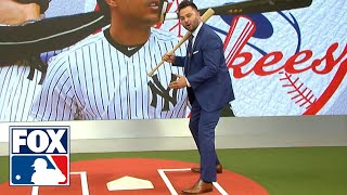 Nick Swisher demonstrates how Giancarlo Stanton can rediscover his power | MLB WHIPAROUND