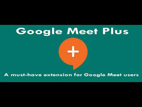 Google Meet Plus