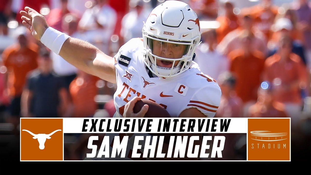 Texas QB Sam Ehlinger Sits Down With Sam Acho | Stadium