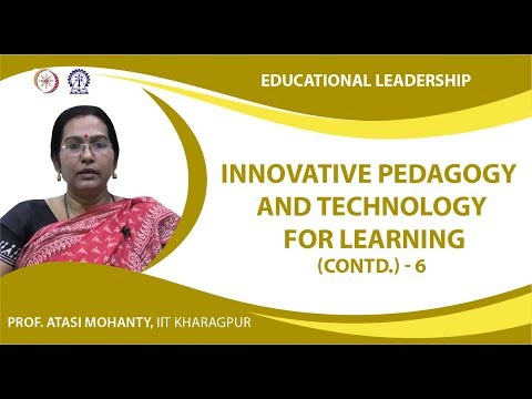 Innovative Pedagogy and Technology for Learning (Contd.)