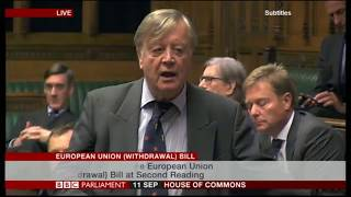 EU Withdrawal Bill Debate (Day 2 the first 4 hours)