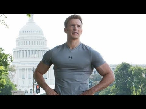 Steve Rogers & Sam Wilson 'Running' Scene ¦ Captain America  The Winter Soldier 2014 CLIP