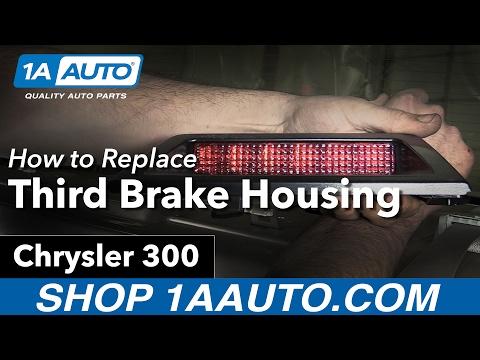 How To Replace Third Brake Light Housing 05-07 Chrysler 300