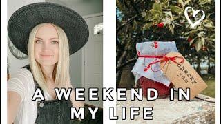 A WEEKEND IN MY LIFE || Canning Jam, Garage Sale, Gardening