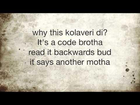 Kolaveri Di - Rap Cover