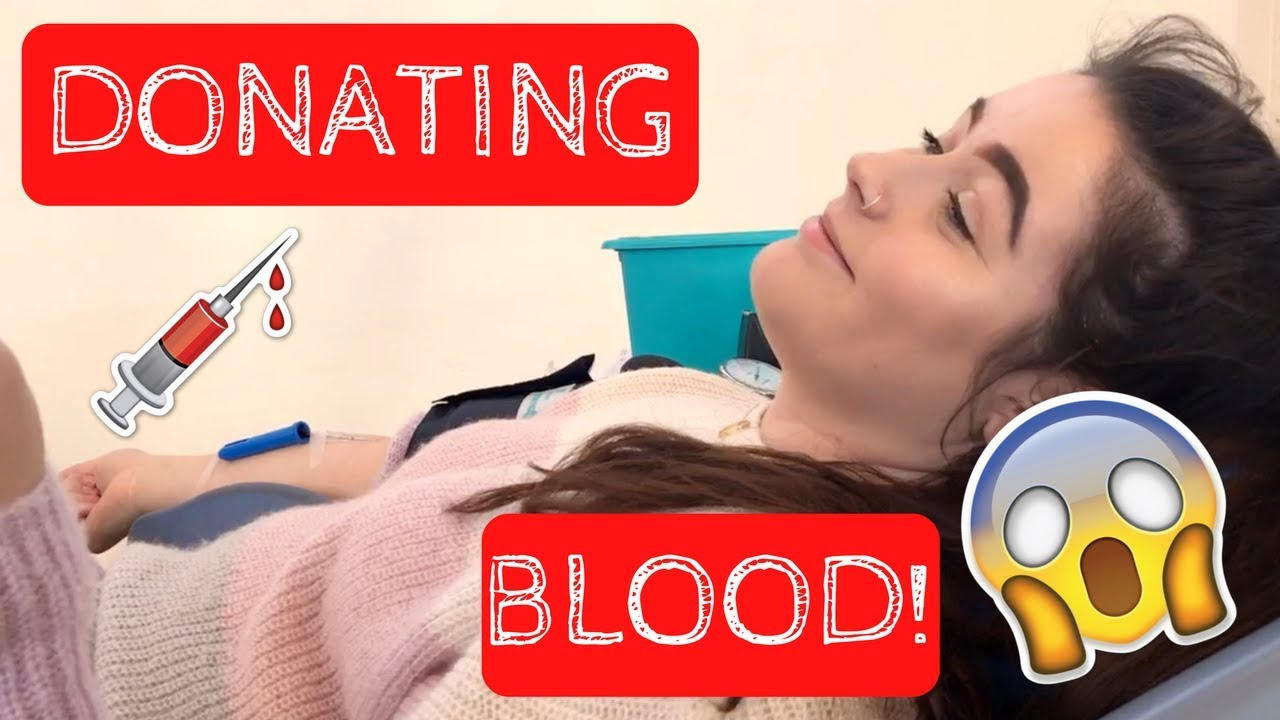 UNI VLOG | My Honest Experience Donating Blood (FIRST TIME!!)
