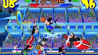 Disney Sports Basketball - Mickey, Donald, Minnie,  Nintendo Gamecube Kids Games