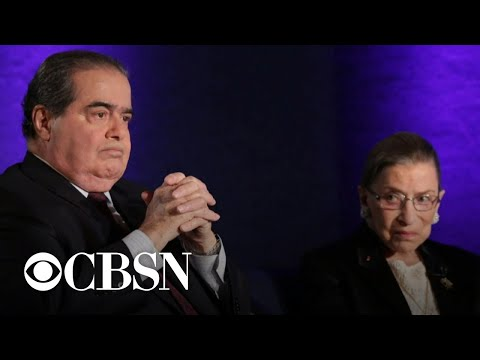 "Antonin Scalia's son on his father's ""odd couple"" friendship with RBG"