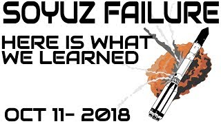 This Is What We Discovered About Soyuz Rocket Failure - Oct 11, 2018