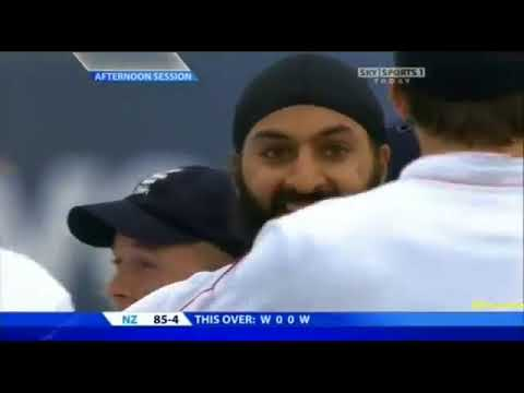 Monty Panesar 6 37 vs New Zealand, 2nd Test Old Trafford 2008   YouTubevia torchbrowser com