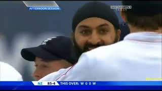 Download Monty Panesar 6 37 vs New Zealand, 2nd Test Old Trafford 2008   YouTubevia torchbrowser com Mp3 and Videos