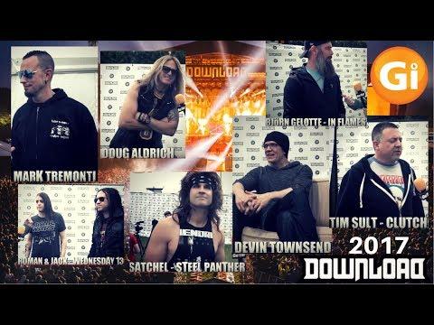 Gi Weekly | Download Festival 2017 Special | Devin Townsend, Mark Tremonti, Doug Aldrich, Satchel