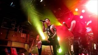Black Veil Brides - Wretched And Divine live Sweden Gothenburg