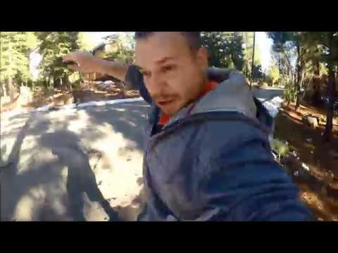 Snowboard run All the way home ll Tahoe winter 2018