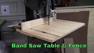 "Bandsaw table for Porter*Cable 14"" bandsaw. Fence system. Ep.2016-02 www.GLCrafts.com DISCLAIMER: Exercise good shop"
