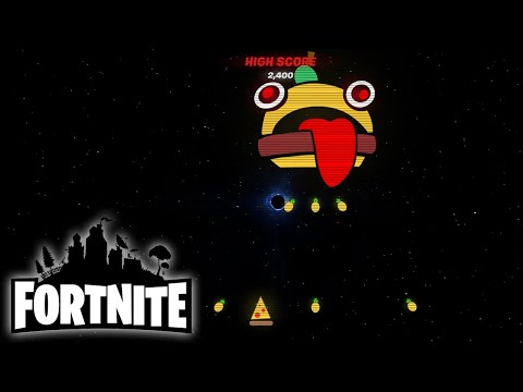Fortnite Space Invaders Mini-Game - How to Play
