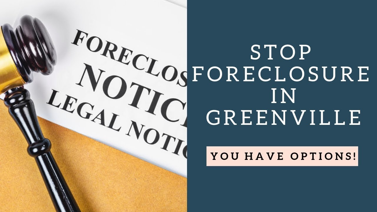 Stop Foreclosure Greenville SC | 864-506-8100 | SC Home Offer