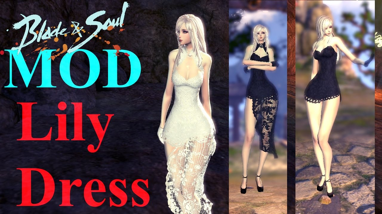 Blade & Soul Costume Mod - Kun Lily Dress