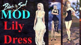 Blade & Soul Costume Mod - Kun Lily Dress